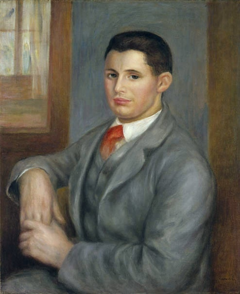 'Young Man with a Red Tie' 1890